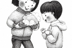 女の子焼き芋