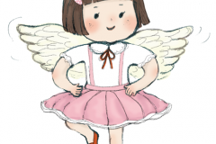 天使女の子のコピー