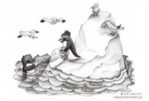 ペンギン滑り台