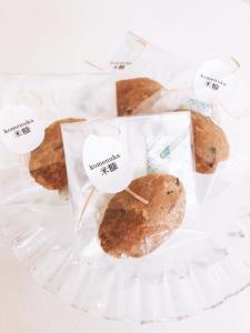 Rice bran クッキー
