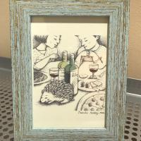 ワインとハリネズミ