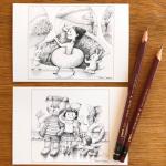 新作のポストカードを販売します 〜 yokohama Handmade MAKERS'11/10~12 〜