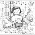 暖かいセーター 冬  「Very Merry Christmas!!!」展に展示します。