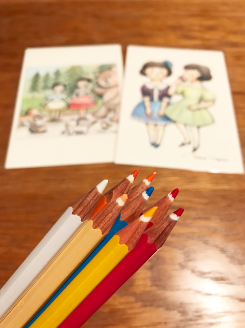 STAEDTLER ABS 色鉛筆の先