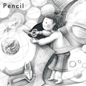 鉛筆画 pencil