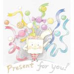 「Very Merry Christmas!!!グループ展」始まります!イラストレーターなかじまともこ