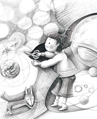 鉛筆画のイメージ
