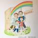 壁画制作例〜O邸の玄関にご家族の絵を描きました〜